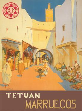 Tétouan (Tetuán) - Morocco (Marruecos) - City of the White Dove by Mariano Bertuchi