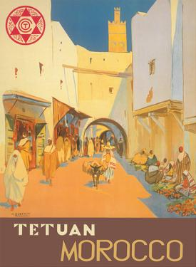 Tetuán, Morocco - City of the White Dove by Mariano Bertuchi