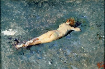 Nude on the Beach at Portici