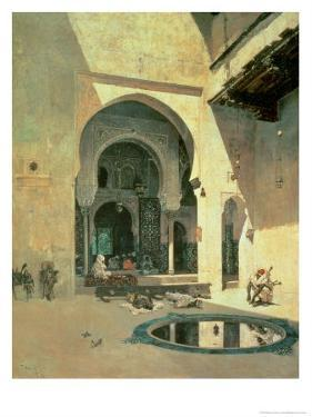 The Court of the Alhambra, 1871 by Mariano Fortuny y Marsal