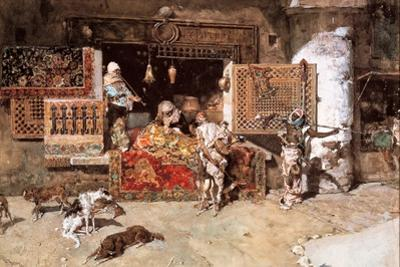 The Tapestry Merchant, 1870