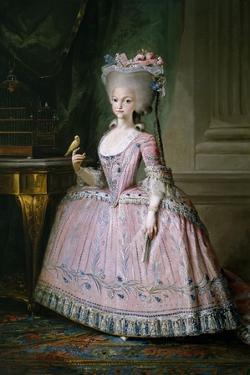 Carlota Joquina, Infanta of Spain and Queen of Portugal, 1785 by Mariano Salvador Maella