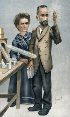 Marie And Pierre Curie