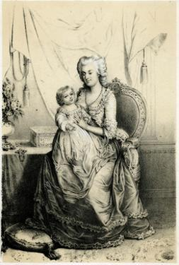 Marie Antoinette and Dauph