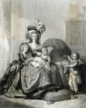 Marie Antoinette, Lebrun