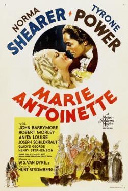 Marie Antoinette, Norma Shearer, Tyrone Power, 1938