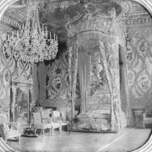 Marie Antoinette's Bedroom, Palace of Fontainebleau, France, Late 19th or Early 20th Century