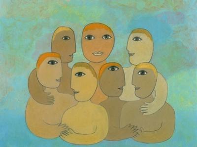 Illustration of Family Portrait