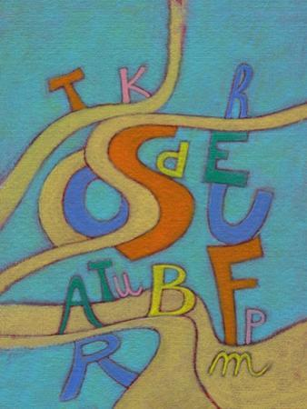 Illustration of Mixed Letters