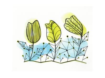 Illustration of Yellow Flowers