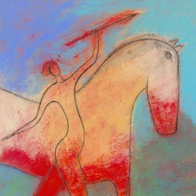 Spear Beside a Horse