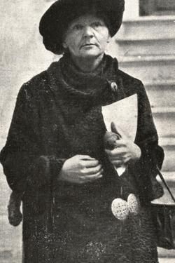Marie Curie in 1929
