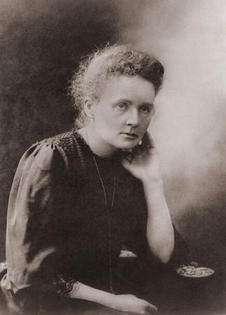 Marie Curie Polish-French Physicist Won Two Nobel Prizes, Ca. 1900