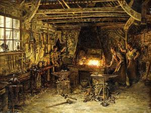 Glassmakers by Marie Francois Firmin-Girard