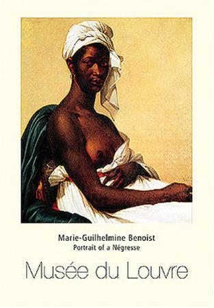 Portrait Of Negress by Marie Guilhelmine Benoist