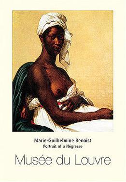 Portrait Of Negress by Marie Guilhelmine Benoist