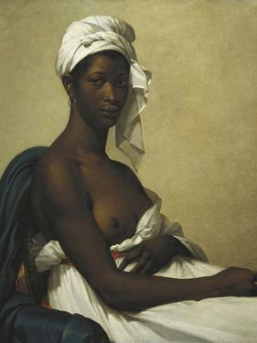 Portrait of a Negress by Marie Guillemine Benoist