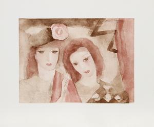 Two Women by Marie Laurencin
