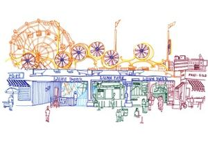 Coney Island by Marie Lawyer