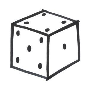 Lucky Dice by Marie Lawyer