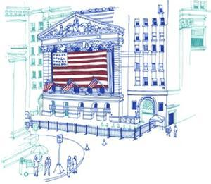 NY Stock Exchange by Marie Lawyer