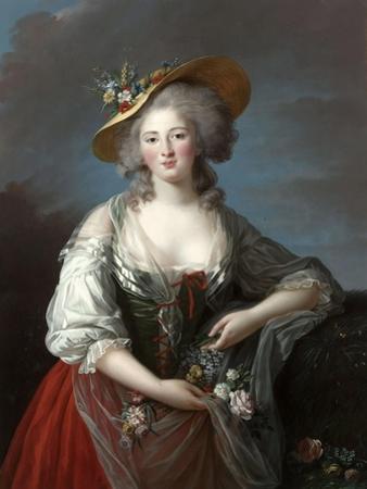 Élisabeth Philippine Marie Hélène De Bourbon by Marie Louise Elisabeth Vigée-Lebrun
