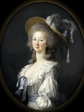 Portrait of Marie Louise of Savoy (1749-179), Princess of Lamballe by Marie Louise Elisabeth Vigée-Lebrun