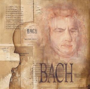 Tribute to Bach by Marie Louise Oudkerk