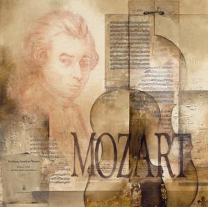 Tribute to Mozart by Marie Louise Oudkerk