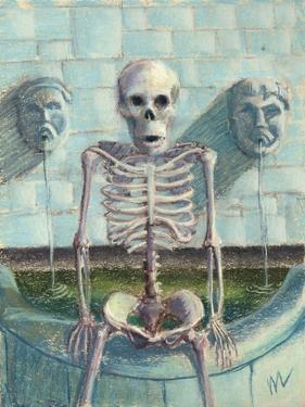Look Im the Fountainhead by Marie Marfia Fine Art