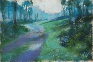 Morning Breaks, Julington Durbin Preserve Series by Marie Marfia Fine Art