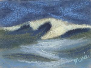Wave Portrait No. 18 by Marie Marfia Fine Art