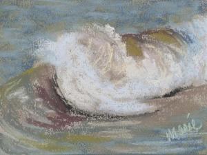 Wave Portrait No. 21 by Marie Marfia Fine Art