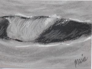 Wave Portrait No. 54 by Marie Marfia Fine Art
