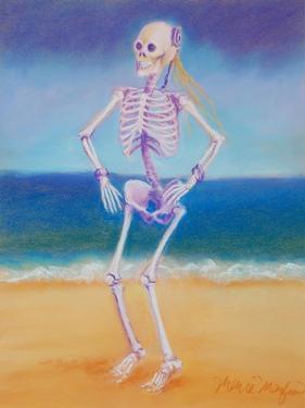 Skelly Dancer II by Marie Marfia
