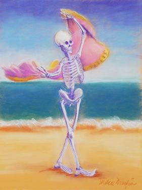 Skelly Dancer III by Marie Marfia