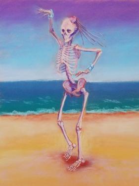 Skelly Dancer IV by Marie Marfia