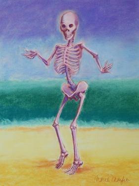 Skelly Dancer V by Marie Marfia