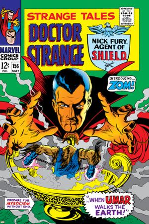 Strange Tales No.156 Cover: Dr. Strange by Marie Severin