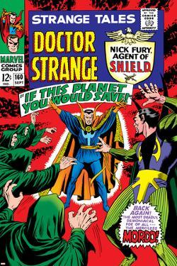 Strange Tales No.160 Cover: Dr. Strange and Baron Mordo by Marie Severin