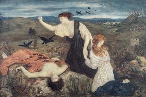 Antigone from 'Antigone' by Sophocles by Marie Spartali Stillman