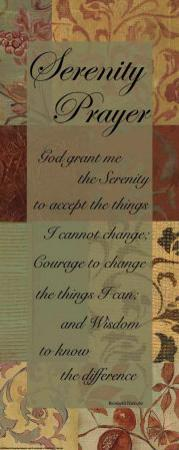 Serenity Prayer by Marilu Windvand