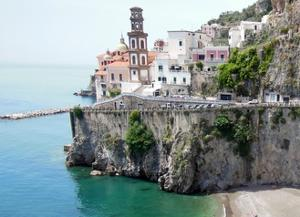 Atrani on the Amalfi Coast by Marilyn Dunlap