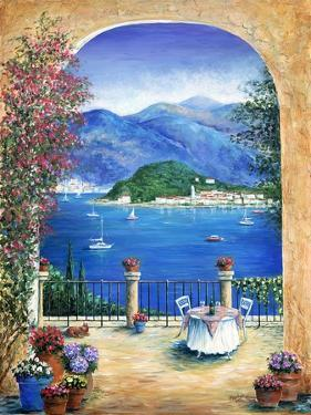 Bellagio Lake Como, From the Terrace by Marilyn Dunlap