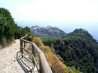 Cinque Terre Corniglia From the Trail
