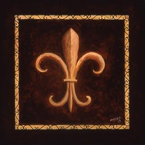 Fleur De Lys - King Louis VII by Marilyn Dunlap