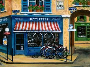 French Bicycle Shop by Marilyn Dunlap