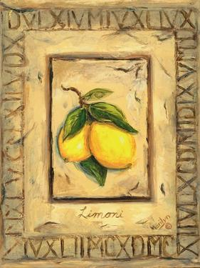 Italian Fruits Lemons by Marilyn Dunlap