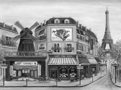 Paris Highlights II by Marilyn Dunlap