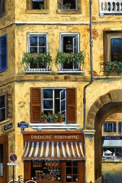 Parisian Bistro and Butcher Shop by Marilyn Dunlap